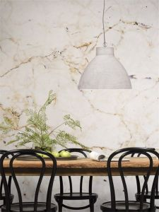 It's About RoMi Hanglamp rond lichtgrijs polystone