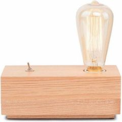 Its About RoMi tafellamp hout kubus M naturel