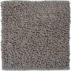 Sealskin badmat Furry grijs microfiber 60x60