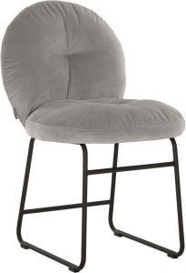 Must living Bouton eetkamerstoel slate grey 83x50x62 cm
