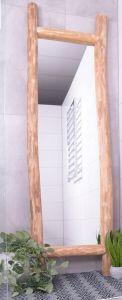 MD Interior Wodo spiegel 200 cm met houten boomstam omlijsting