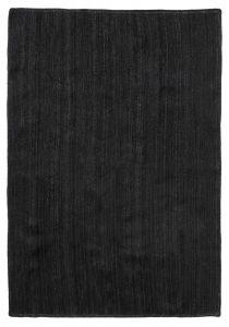 Nordal Jute karpet zwart 160x240 cm