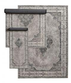 Nordal Venus karpet grijs 75x200 cm