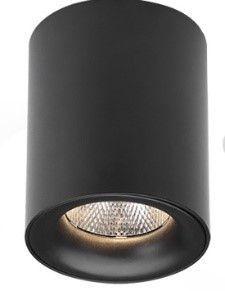 Saniclear Tube opbouw spot incl. LED lichtbron mat zwart