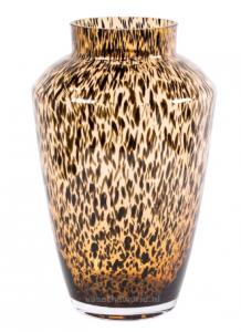 Vase the World Hudson cheetah Ø22,5 x H35 cm