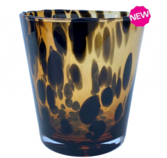 Vase the World Luni cheetah Ø15 x H 15 cm per stuk