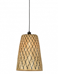 Good & Mojo Hanging lamp Kalimantan bamboo/tapered, S