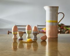 HKliving 70's ceramic egg cups (set of 4)