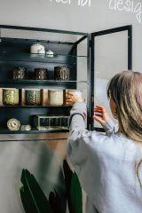 HKLiving ceramic geurkaars Floral Boudoir 50 branduren
