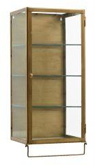 Nordal SIRI wandkast 1 deurs, goud metaal
