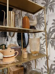 BePureHome Valued vakkenkast metaal antique brass