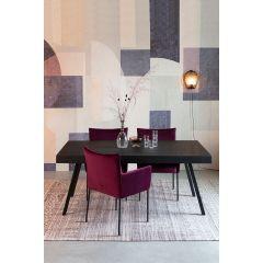MD Interior eettafel Suri 160 x 78 cm Zwart
