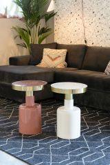 Zuiver bijzettafel Glam - Roze 51 cm hoog
