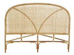 Nordal BALI hoofdbord rattan/geweven naturel 180cm