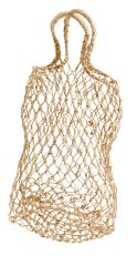 Nordal BANANA fibre rope net naturel small