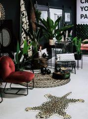 Nordal HAZEL lounge stoel zwart