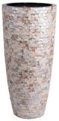 Vase the World Mauritius mother-of-pearl Ø58 x H120 cm