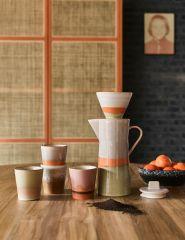 HKliving 70's ceramic coffee filter Saturn
