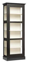 Nordal Denmark Wandkast hout enkele deur zwart wit M
