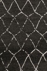 Zuiver Crossley outdoor carpet - Crossley zwart170 cm x 240 cm