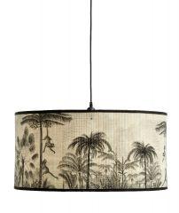Nordal BAUBO jungle bamboo hanglamp rond 60cm