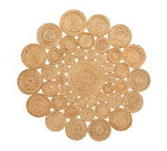 Nordal LUCIA karpet rond jute naturel ⌀ 150