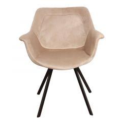 Pole to Pole Ray Arm Chair Sand White per 2 stuks