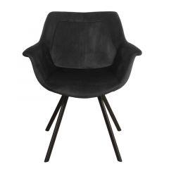 Pole to Pole Ray Arm Chair Black per 2 stuks