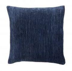 Nordal POLARIS kussenhoes, donkerblauw velvet | L48 x B48 cm