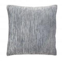 Nordal POLARIS kussenhoes, grijs velvet | L48 x B48 cm