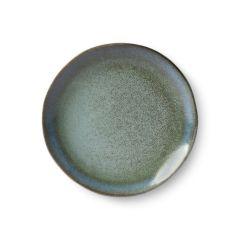 HKliving 70's Moss dessert plate Ø17,5 cm