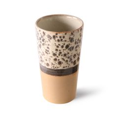 HKliving 70's ceramic latte mug Tropical
