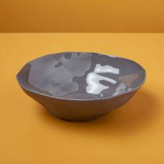 Be Home bowl stoneware slate gray
