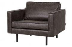 BePureHome Rodeo fauteuil zwart