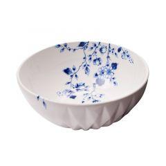 Heinen Delfts Blauw vouw soepkom
