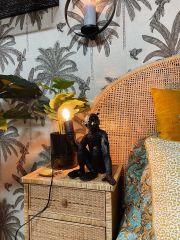 MD Interior Aap tafellamp zwart 30 cm
