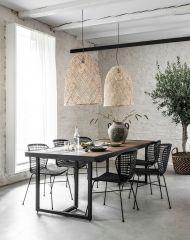DTP Home Eettafel Criss Cross 200 cm