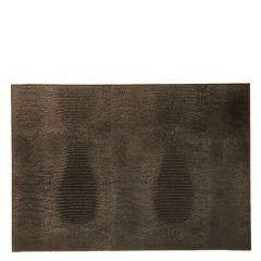 Dome Deco placemat Croco bruin set van 2