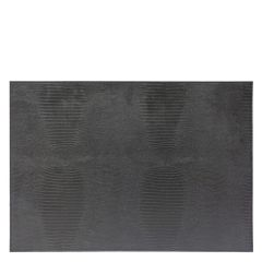Dome Deco placemat Croco zwart set van 2