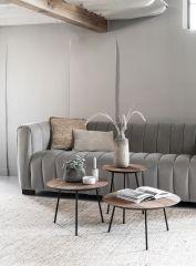 DTP Home Highlight salontafel Jupiter Medium naturel Ø50
