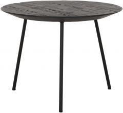 DTP Home Highlight salontafel Jupiter Medium zwart Ø50