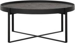 DTP Home Highlight salontafel Pluto Small zwart Ø80