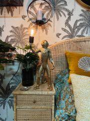 MD Interior staande Aap tafellamp goud 67 cm