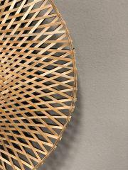 Good & Mojo Wall lamp Kalimantan bamboo flat, M