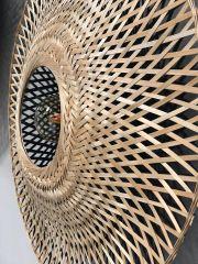 Good & Mojo Wall lamp Kalimantan bamboo flat, S