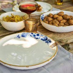 Heinen Delfts Blauw bloesem yoghurtschaaltje 11 cm