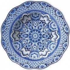 Heinen Delfts Blauw Hollandse Droom 100 cm