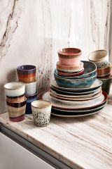 HKliving 70's ceramic tapas bowl Air