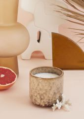 HKLiving Ceramic geurkaars casa fruits