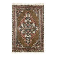 HKliving karpet geprint katoen jute stonewashed 120x180 cm